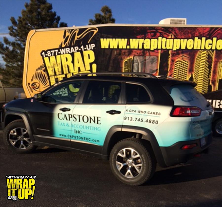 Capstone SUV Wrap