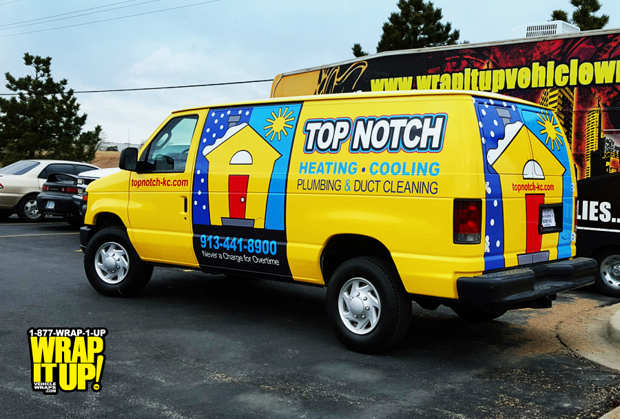 Top Notch Van Wrap