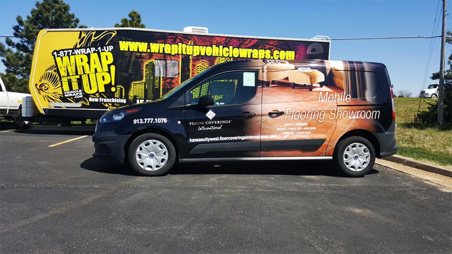International Van Wrap