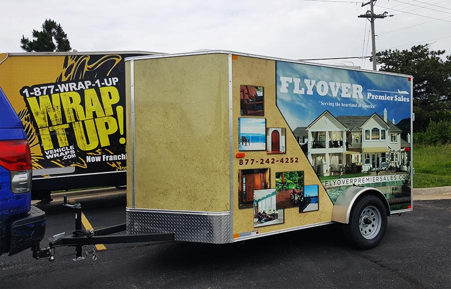 Flyover Trailer Wrap