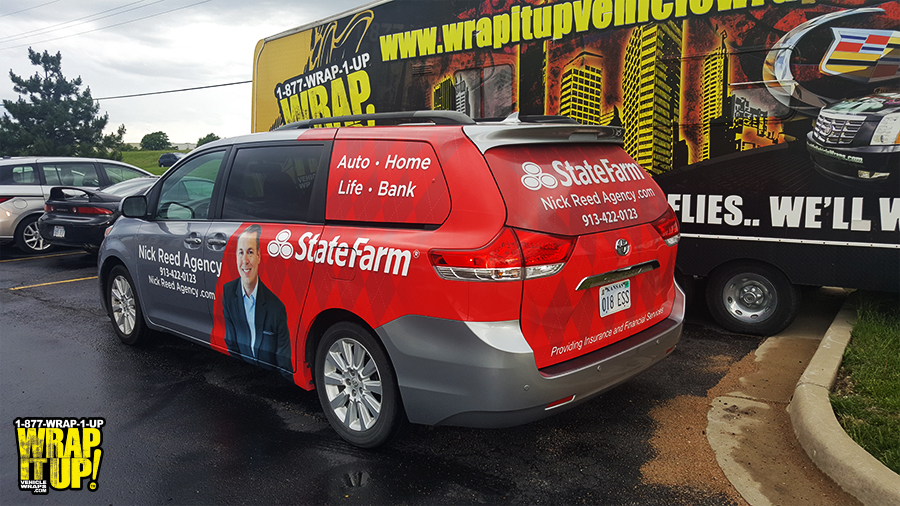 State Farm Van Wrap
