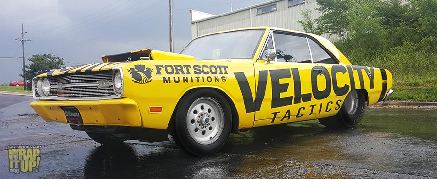 Velocity Vehicle Wrap