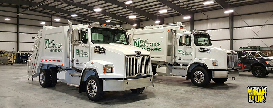 4 State Truck Wrap