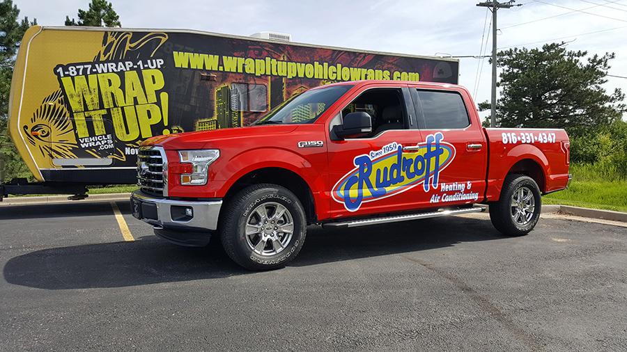 Rudroff Truck Wrap
