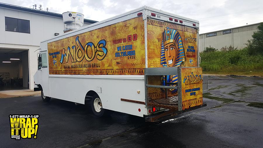 Midos Food Truck Wrap
