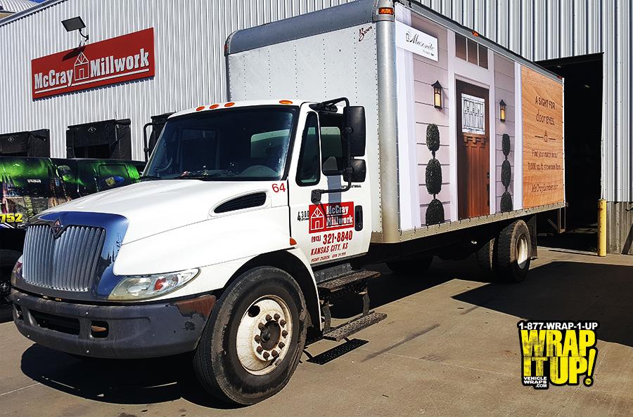 McCray Box Truck Wrap