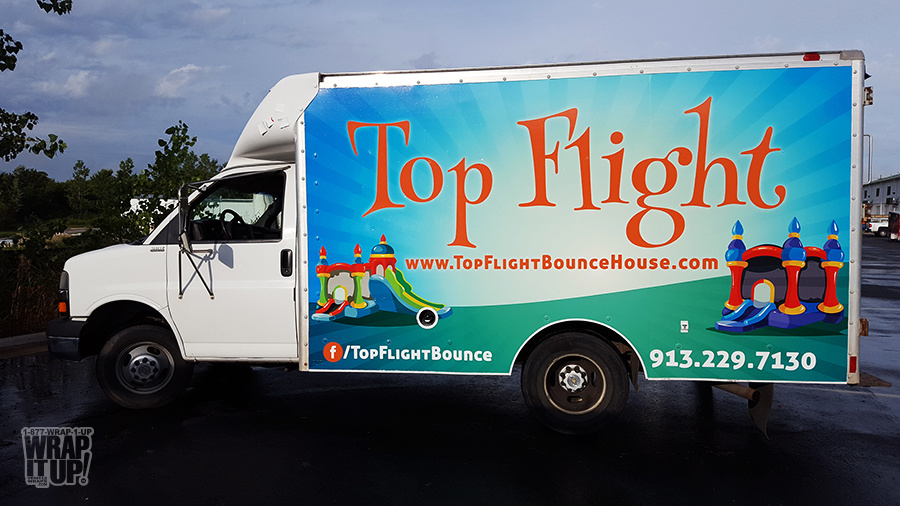 Top Flight Truck Wrap