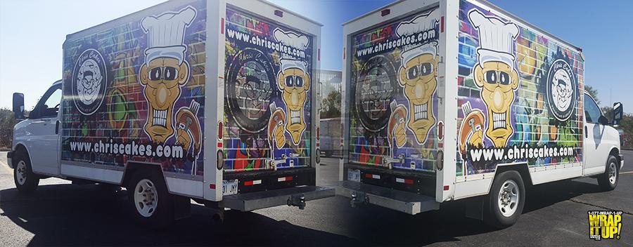 Chris Cakes Box Truck