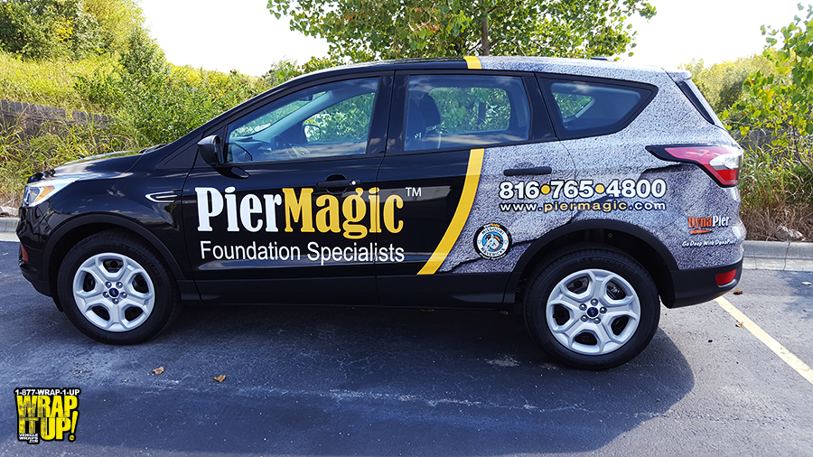 Pier Magic SUV Wrap