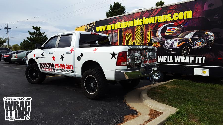 Superstar Truck Wrap