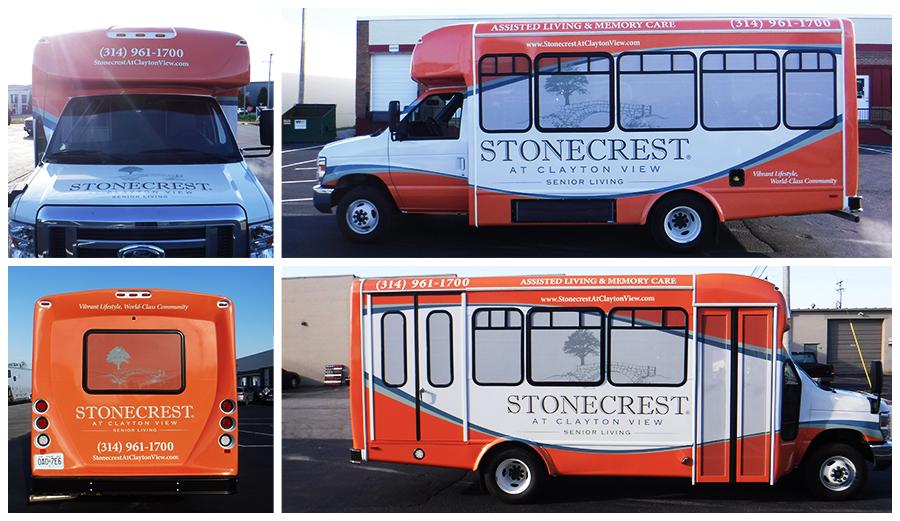 Stonecrest Bus Wrap