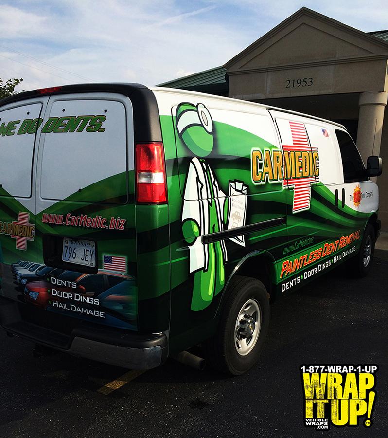 Carmedic Van Wrap