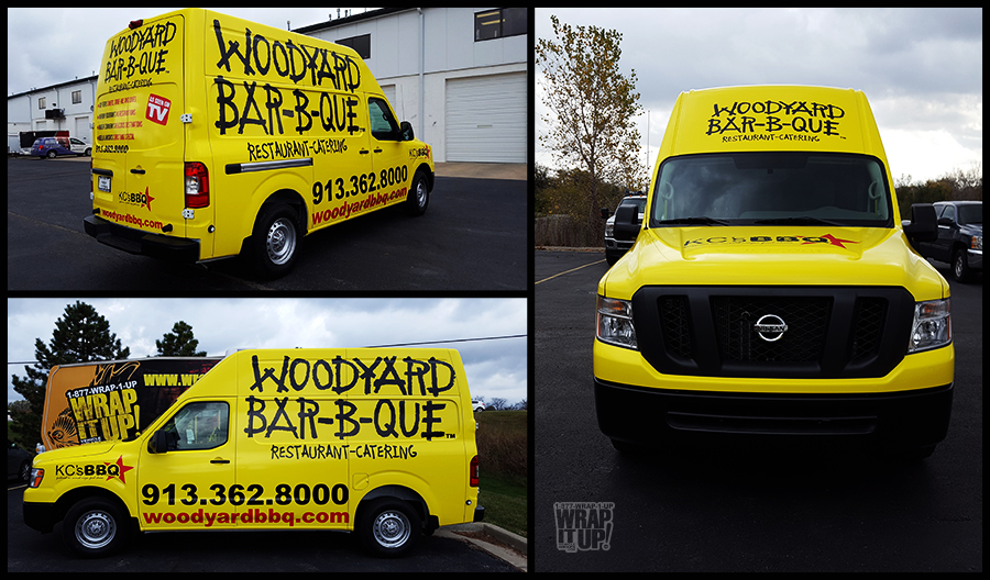 Woodyard Van Wrap