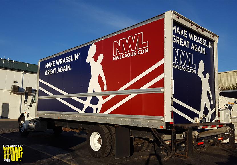 NWL Box Truck Wrap