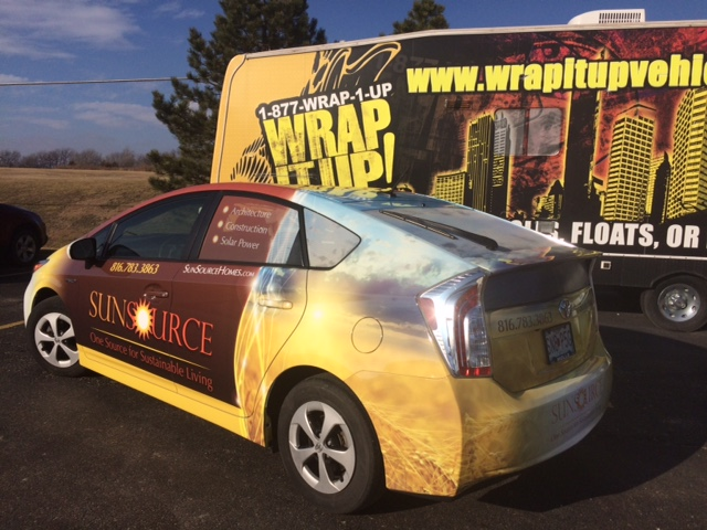 SunSource Car Wrap