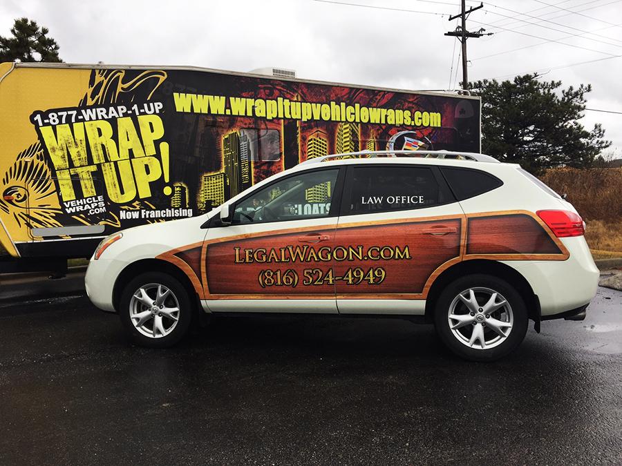 Hoorfar SUV Wrap