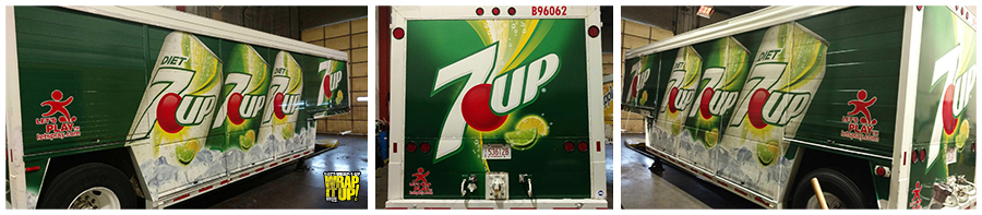 7up Trailer Wrap