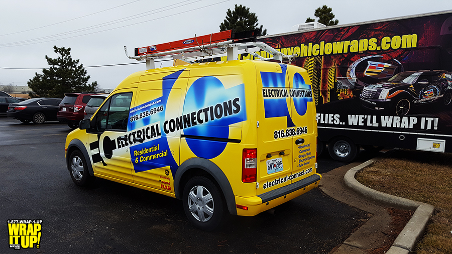 Electrical Connections Van Wrap