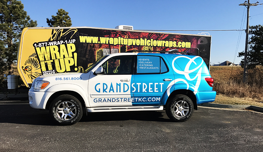 Grand Street SUV Wrap