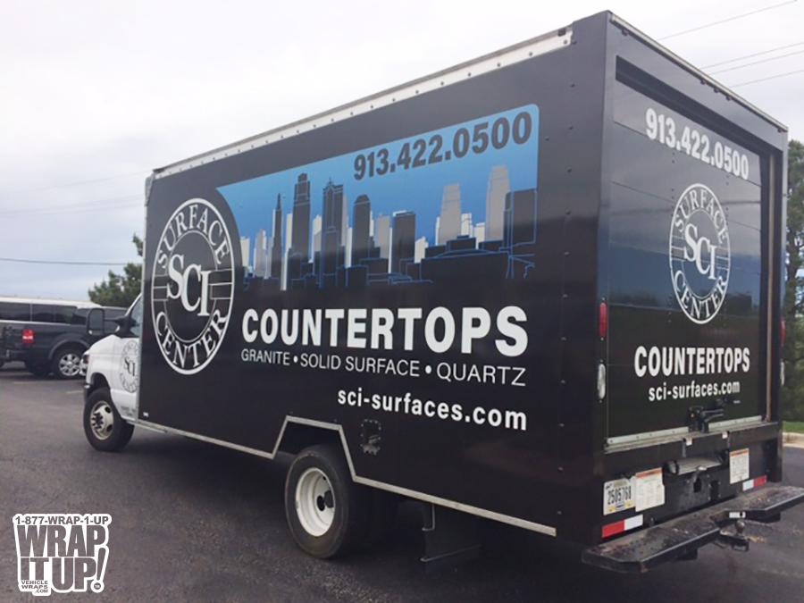 SCI Box Truck Wrap