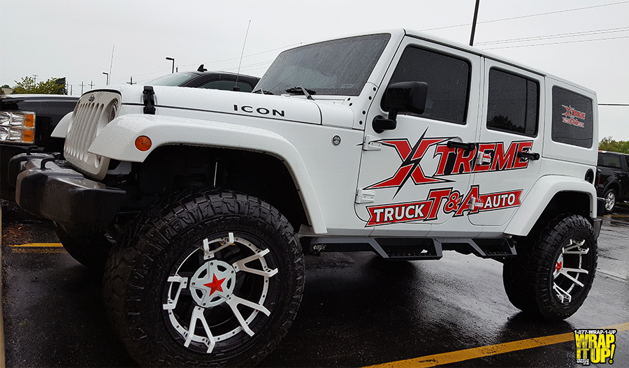 Xtreme SUV Wrap
