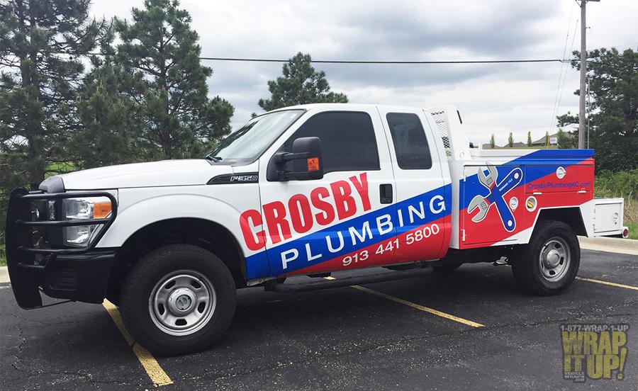 Crosby Truck Wrap
