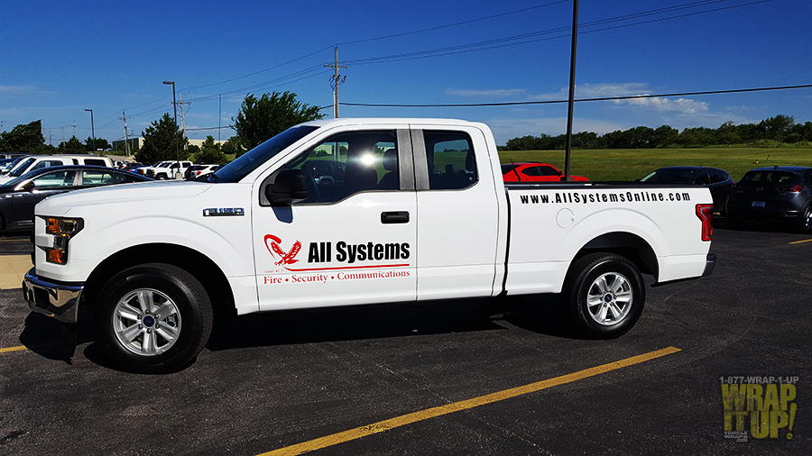 All Systems Truck Wrap